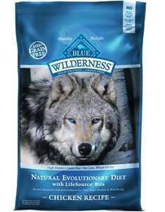 Blue Buffalo Wilderness received the top rating of 5 stars on DogFoodAdvisor.