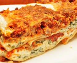 While lasagne is delicious, it would be dangerous for your dog to have a slice, that's why it is not recommended to share this dish with your dog.